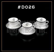 Gold Chain Series Cup & Saucer Set
