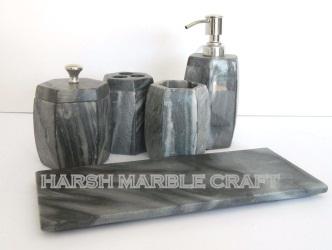 Grey Stone Bath Accessories 03