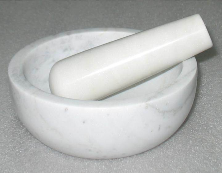 Marble Mortar Pestle 02