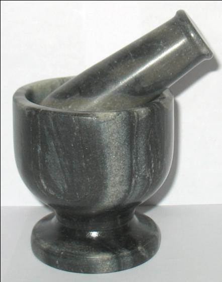 Marble Mortar Pestle 03