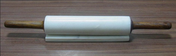 NS 056 Marble Wood Rolling Pin