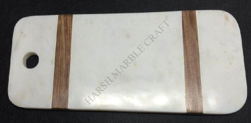 NS1533 Marble Wood Cutting Board