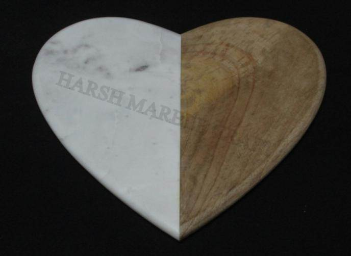 NS1534 Marble Wood Cutting Board
