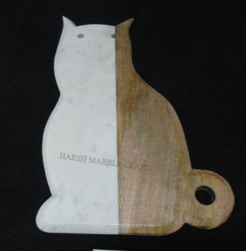 NS1536 Marble Wood Cutting Board