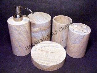 Rainbow Sandstone Bath Accessories 02