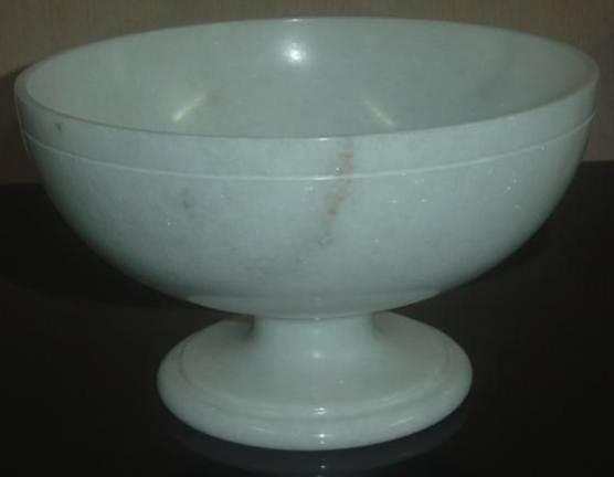 WB0013 White Marble Bowl