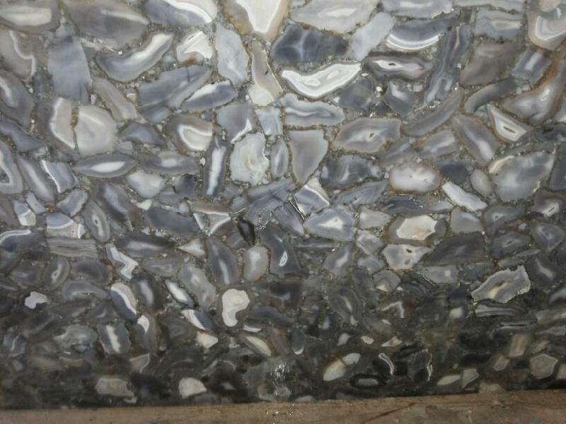 Blue Lace Agate Tiles