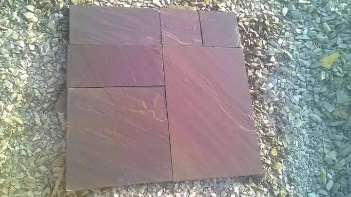 Chocolate Sandstone Tiles