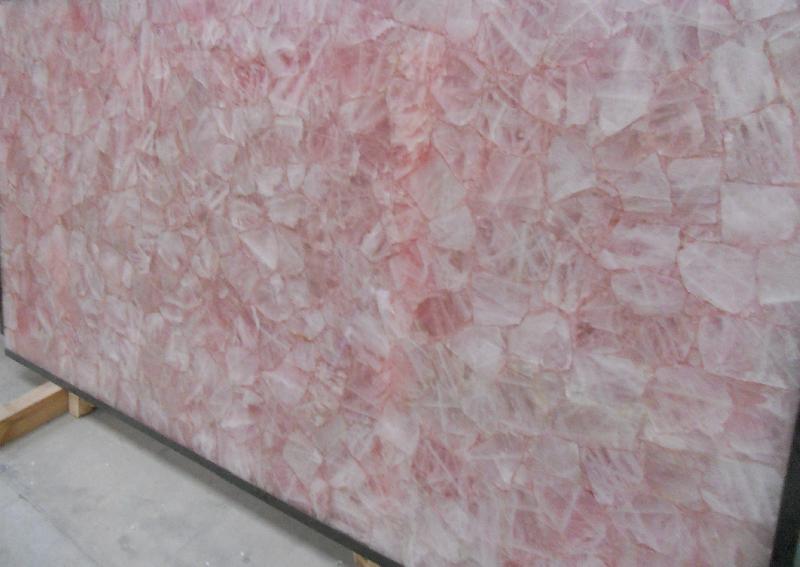 Rose Quartz Slabs