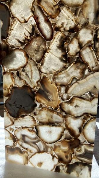 White Botswana Agate Tiles