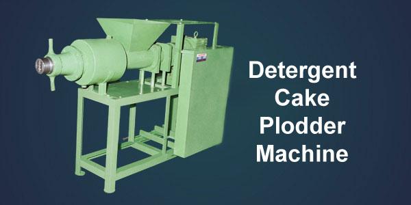 Detergent Cake Plodder Machine