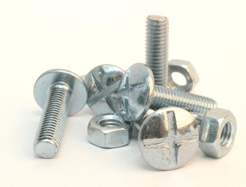Zinc Coated Nuts & Bolts