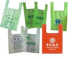 U Cut Plastic Carry Bags 02