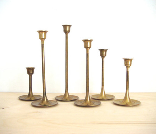 Brass Candle Holders 01