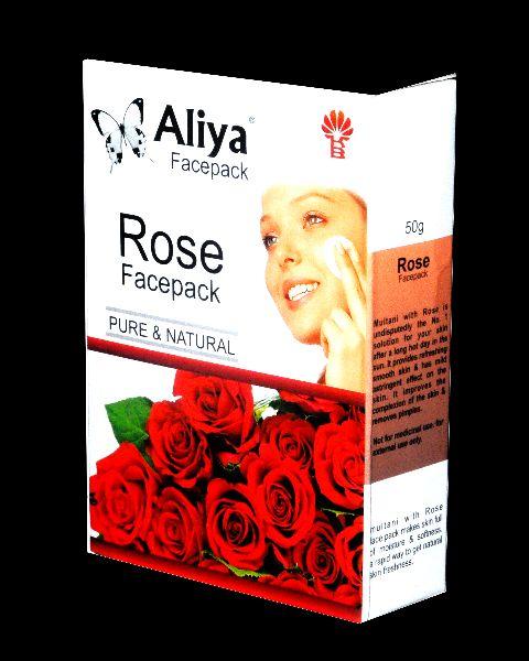 Rose Facepack