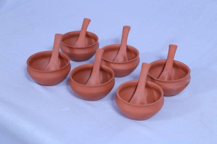 Terracotta Soup Bowl Set 01