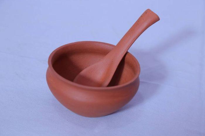 Terracotta Soup Bowl Set  02