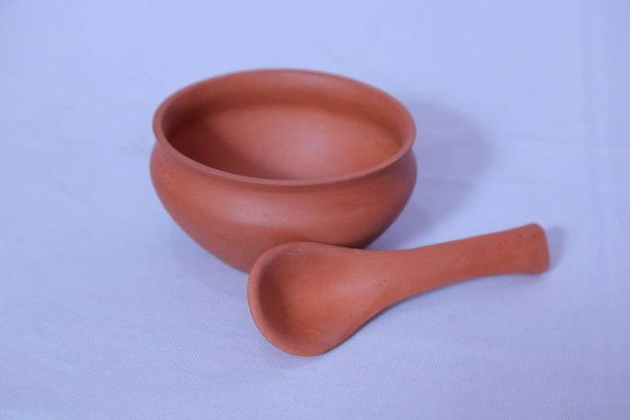 Terracotta Soup Bowl Set  03
