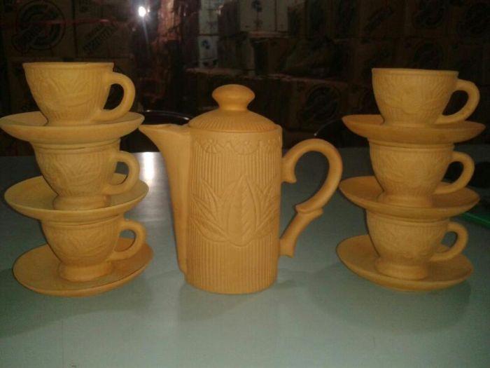 Terracotta Tea Set 02