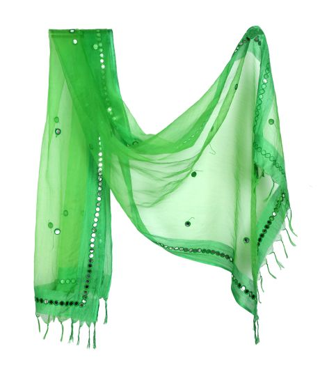 Mirror Work Silk Dupatta 13