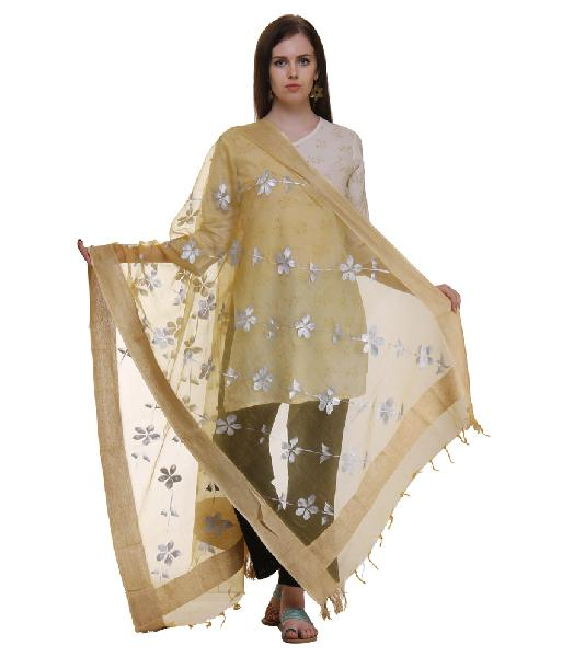 Mirror Work Silk Dupatta 19