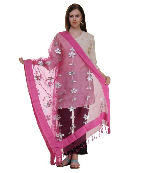 Mirror Work Silk Dupatta 20