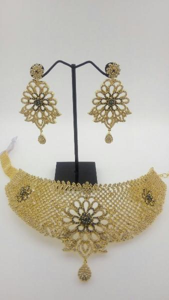 CZ Bridal Necklace Set 01