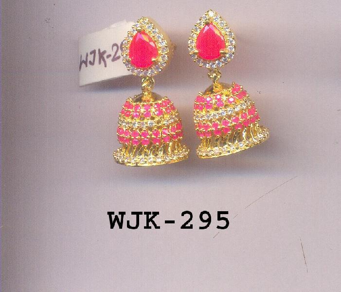 CZ Jhumka Earring (WJK-295)