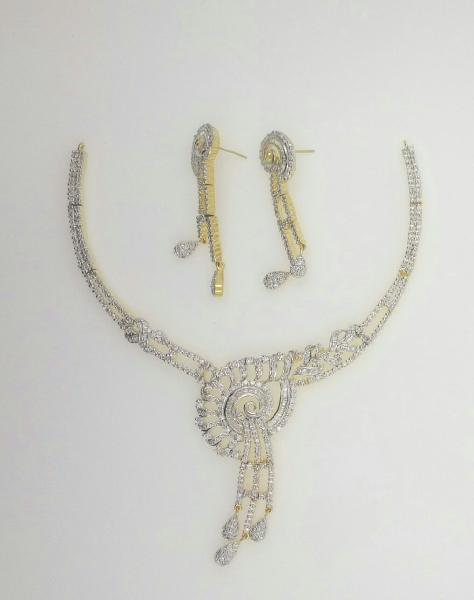 CZ Necklace Set 02