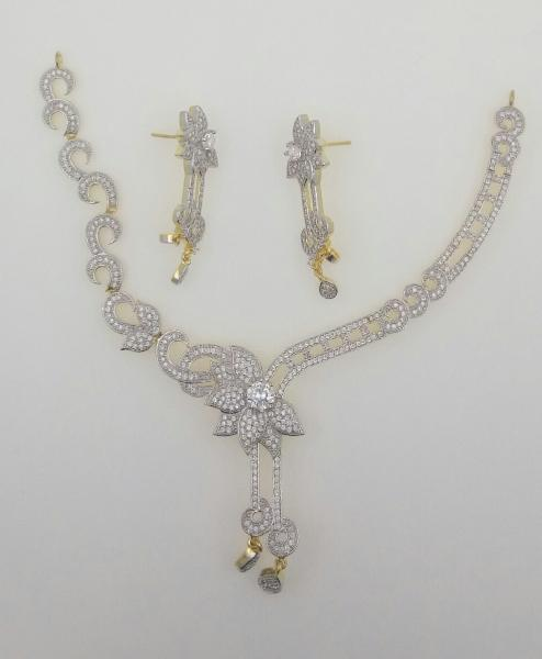 CZ Necklace Set 03