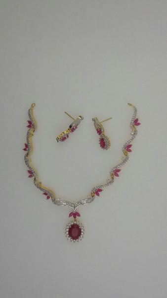 CZ Necklace Set 11