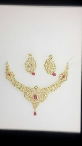 CZ Necklace Set 12