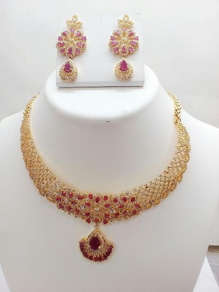 Gold Necklace Set 01