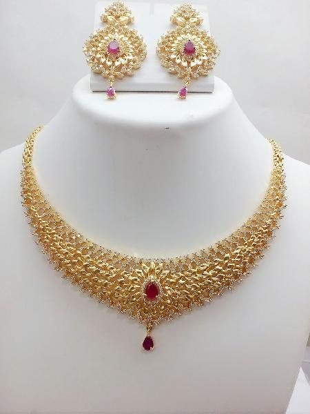 Gold Necklace Set 06
