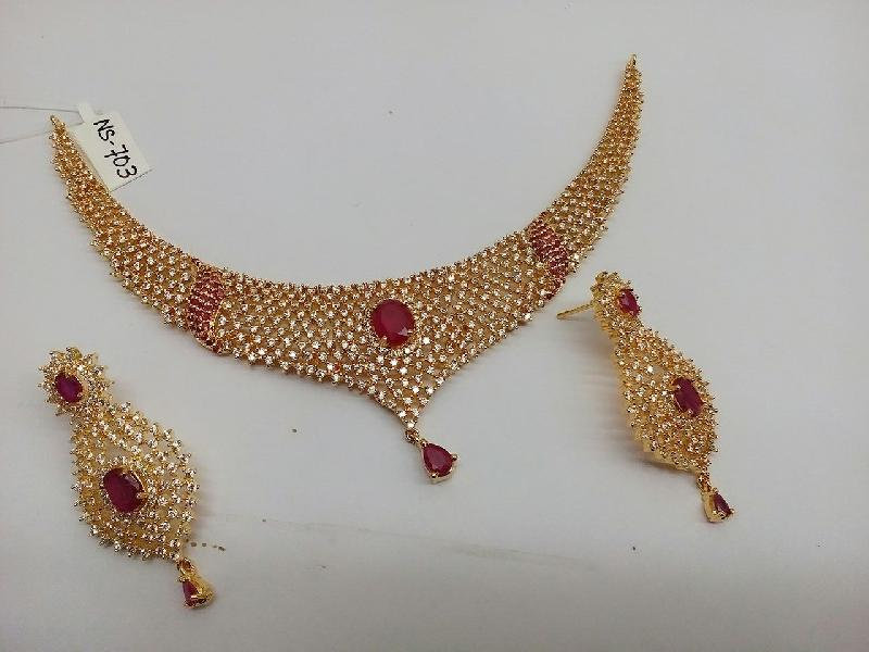 Gold Necklace Set 10
