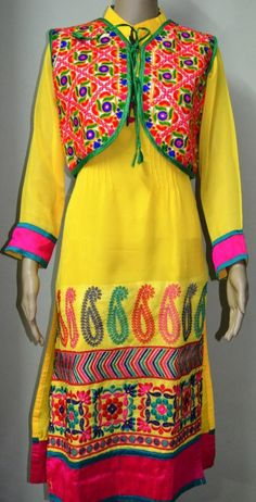 Kutch Work Cotton Kurti 02