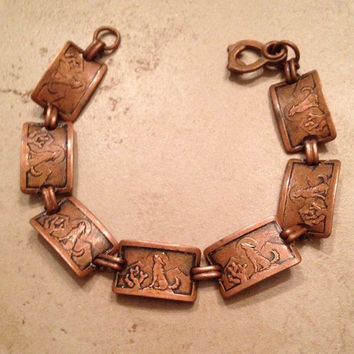 copper bracelet silvermoon man antique lt silver new zealand