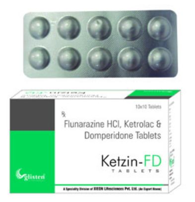 Ketzin-FD Tablets