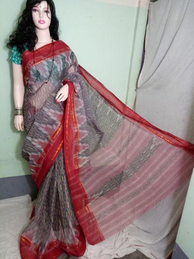 Cotton Handloom Ikkat Saree 02