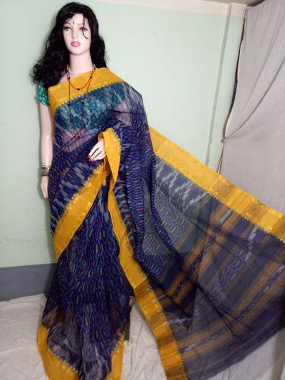 Cotton Handloom Ikkat Saree 03