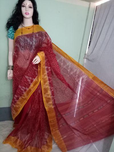 Cotton Handloom Ikkat Saree 05