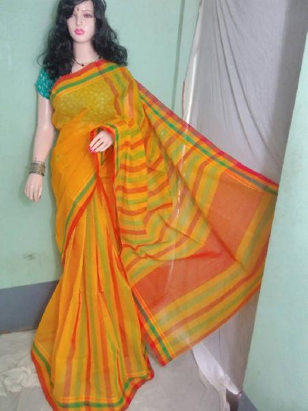 Cotton Handloom Tant Saree 04