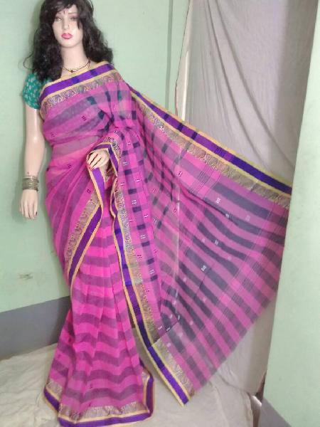 Cotton Handloom Tant Saree 05