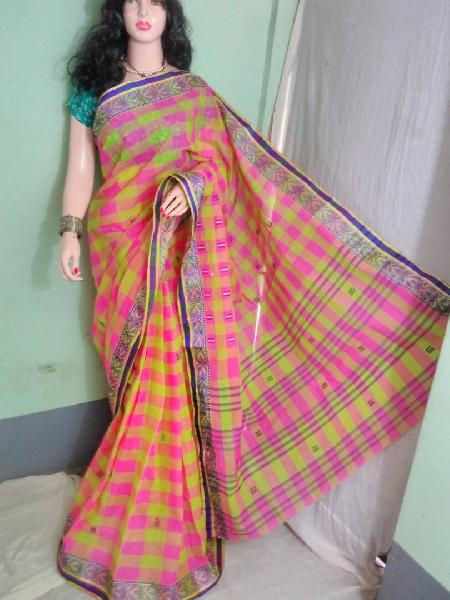 Cotton Handloom Tant Saree 06