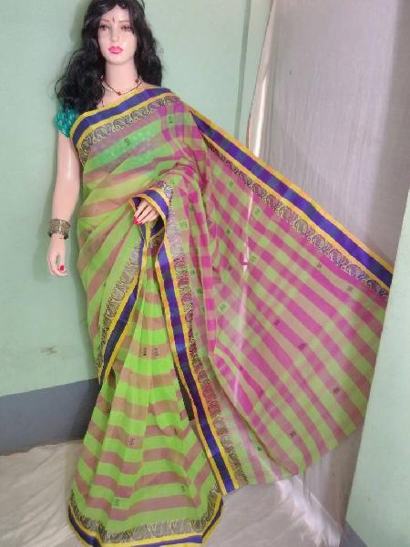 Cotton Handloom Tant Saree 07