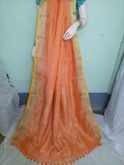 Linen Saree 03