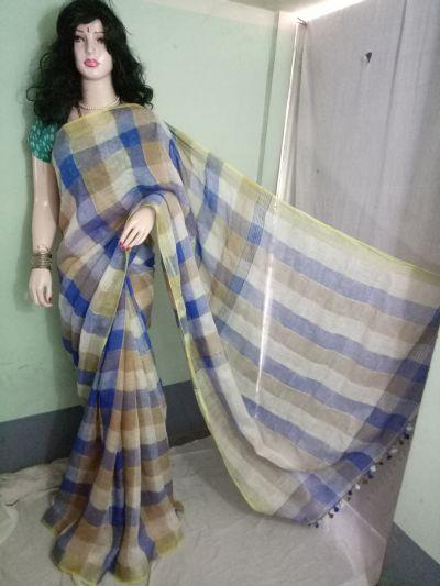 Linen Saree 05