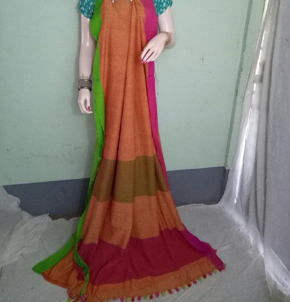Pure Khadi Saree 01