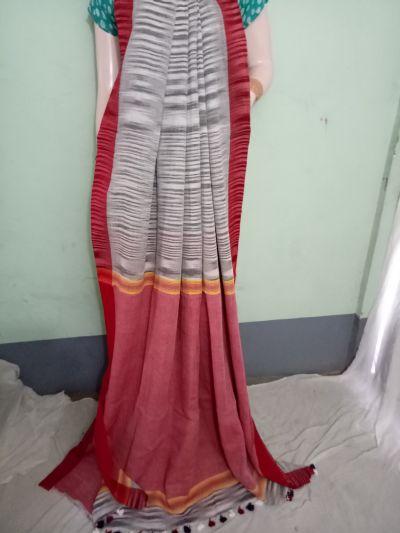 Pure Khadi Saree 02