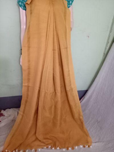 Pure Khadi Saree 03